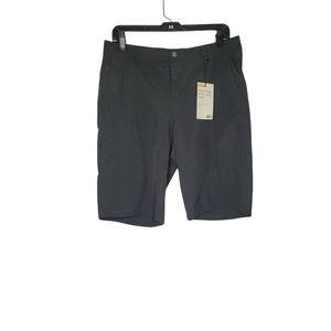 REI Women's New Knee Length Sz 10 Quick Dry Black Hiking Shorts